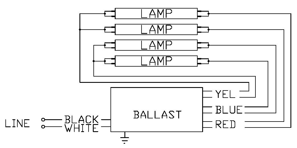 35 3 Lamp T8 Ballast Wiring Diagram - Wiring Diagram List