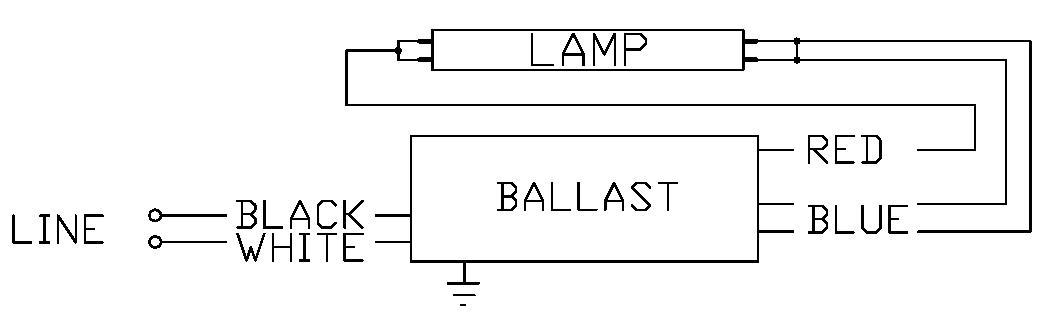 T5 Ballast Wiring Diagram 120 277 - Schematics Online on